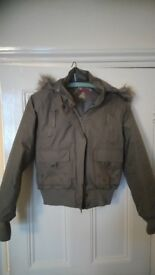 New (no tags) never worn, ladies size 14 coat
