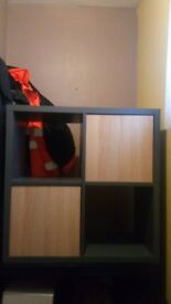 Cubed Shelf Unit. Very Good Condition.