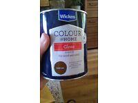 paint - dark oak gloss
