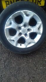 Vauxhall alloy 16inch