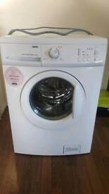 Zanussi large 8kg capacity washing machine