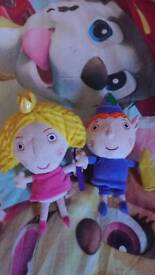Interactive ben and holly