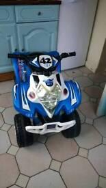 Childrens Electric Quadbike