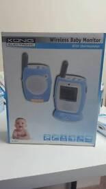 Konig electronics wireless baby monitor NEW