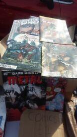 Marvel dc comic books
