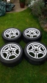 bmw 17 inch alloy wheels m sport style