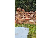 Half bricks ideal for building FOUNDATION