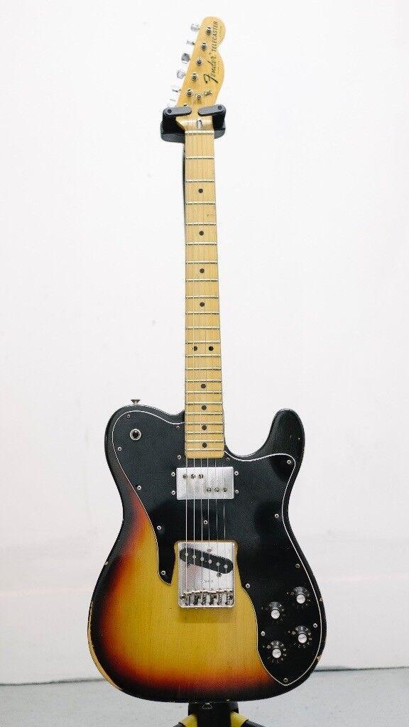 Fender Telecaster Custom 1974, original, vintage