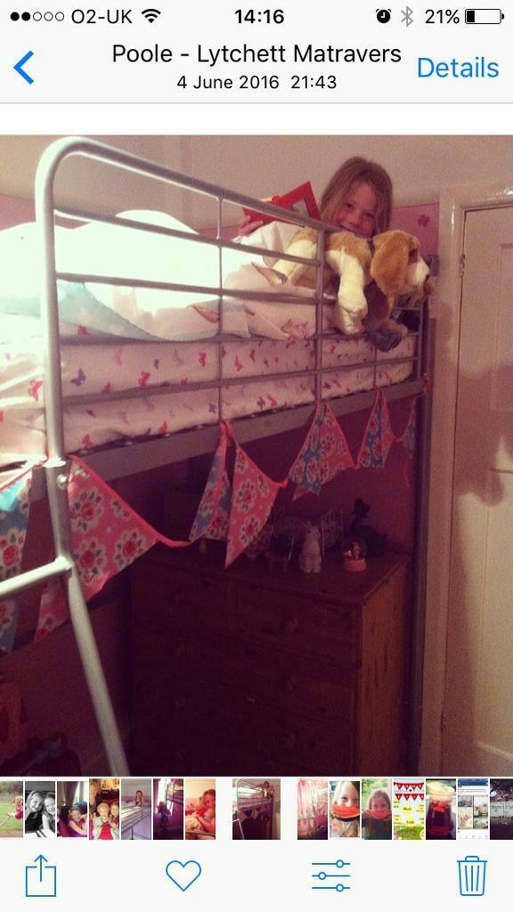 High sleeper bed excellent condition