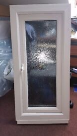 Bathroom upvc window