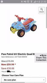 Paw patrol quad