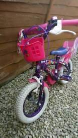 """Girls 12"""" Mia bike (Used)"""