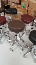 Salon Chair Equipment Hairdressing Stool Mixed colours From £30