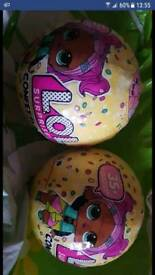 2 Lol surprise dolls series 3 confetti pop (unopened)