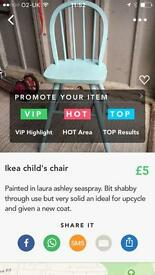Ikea child's chair