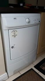 Zanussi Electrolux condensing tumble dryer in perfect working order. Approx five years old.
