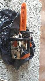 STIHL topping saw