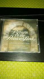 Johnny Cash cd Return to the Promised Land