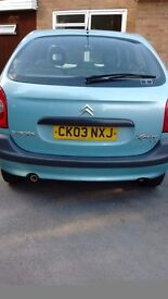Citroen xsara picasso . Good runner. Need to sell as have new car on Friday. Any reasonable offer