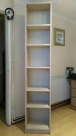 Display or shelving unit- Beech colour