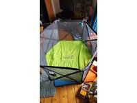 Pop up playpen. Collapses and portable. Excellent condition.