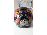 Motorbike Helmet in great condition, size small-medium