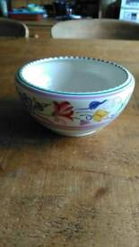 Poole pottery bowl - 6 inches diameter