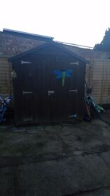6' x 4' Wooden Shed. Buyer dismantles and collects