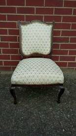 Antique vintage occasional chair