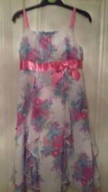 5 Party Dresses (2 with matching cardigans) Age 10 - 11