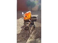 TINYTOES BRAND NEW PUSHCHAIR (suitable from birth to 3yrs)