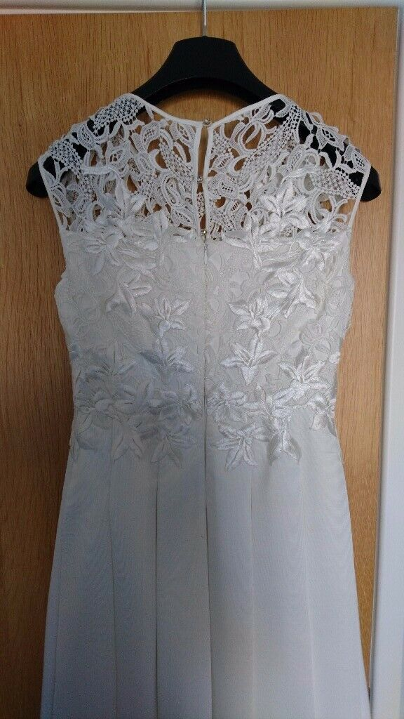 Ted Baker Wedding Dress Uk Size 10 For Sale Worn Once In London Gumtree
