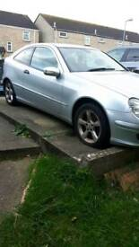 Mercedes C180 2006 spare and repair