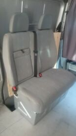 VW Crafter Front Passenger Double Seat