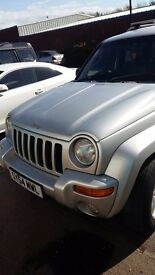2004 jeep cherokee 2.5crd limited