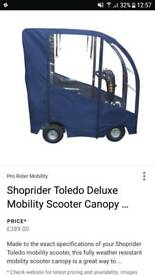 Mobility scooter canopu