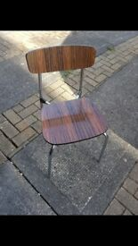 3 vintage dinning chairs. £30 ono