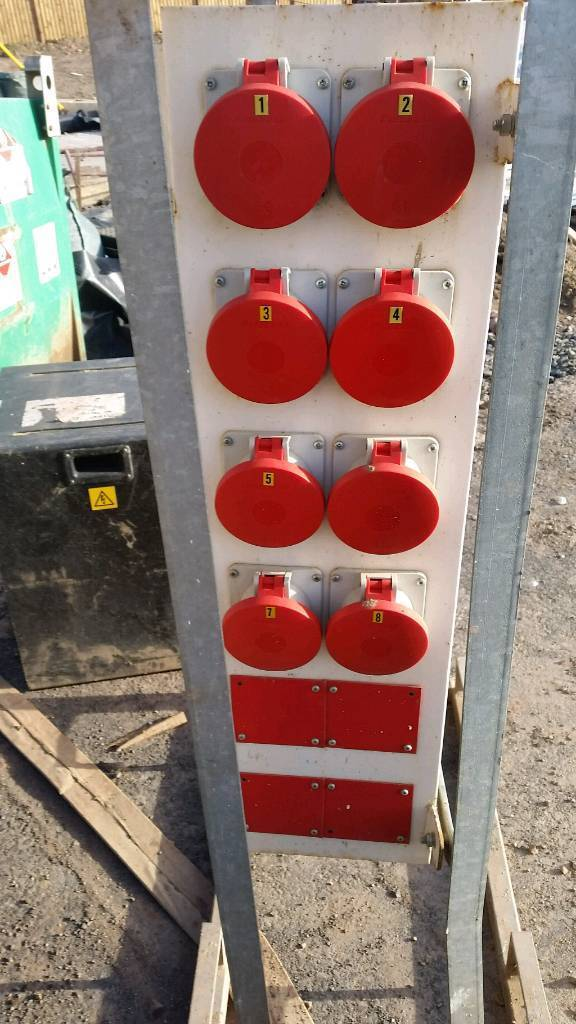 Generator distribution box