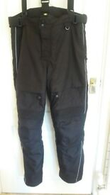 Motorcycle trousers. VGC Large £15.00
