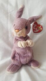 Springy the Rabbit - ty Beanie Baby Collectible