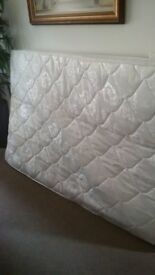 Double mattress (small double) immaculate condition only used as occasional guest bed