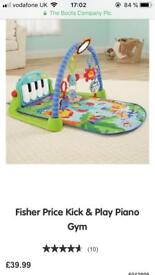 Fisher price play piano