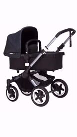 Bugaboo BUFFALO Classic+ Pushchair+Carrycot +FREE Footmuff +Tote bag! RRP £1149
