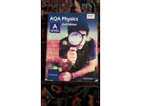 AQA A level Physics Textbook Year 1 and 2 for sale  Exeter, Devon