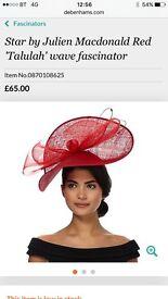 Red hat fascinator