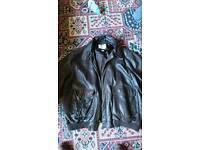 lambskin orvis xxl jacket brown