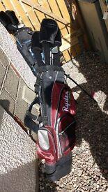 Ryder golf clubs/bag