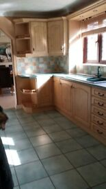 **SOLD**Kitchen units including built in under counter fridge and dishwasher