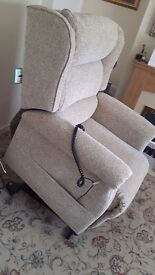 Riser/recliner chair for sale (Oak Tree Mobility)