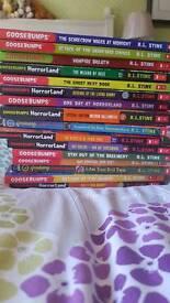 16 Goosebumps books